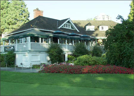 The Fish House in Stanley Park (image: www.fishhousestanleypark.com)